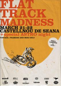 FLAT TRACK MADNESS in Castellnou de Seana (Catalonia, Spain).