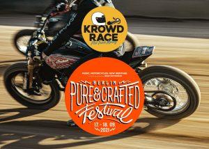 KROWDRACE Team auf dem Pure&Crafted Festival in Berlin
