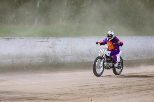 Krowdrace Flat Track Cup 2020 in Parchim - Training Sessions